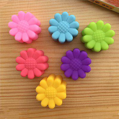 Macroart 6PCS Cake Molds Novelty Cooking Utensils Bread Chocolate Cake Silica Gel Baking Tool Kitchen Gadget