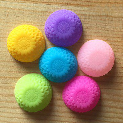 Macroart 6PCS Kitchen Cake Molds Novelty Cooking Utensils Bread Chocolate Cake Silica Gel Baking Tool Creative