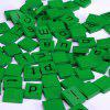 100pcs Lowercase Wooden Scrabble Tiles Crafts Wood Alphabets for Kids - GREEN