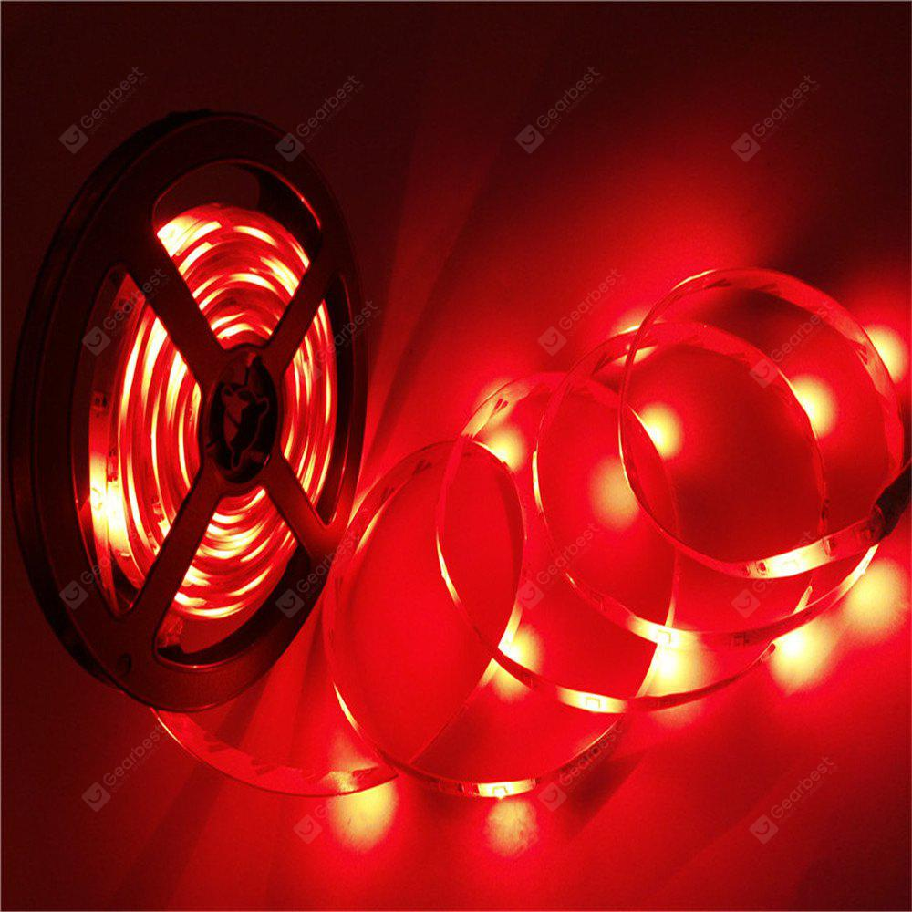 Supli 5M Waterproof Flexible Strip Smd 3528 Rgb 300LEDS with 24KEY Ir Remote Control + 3A Power Adapter