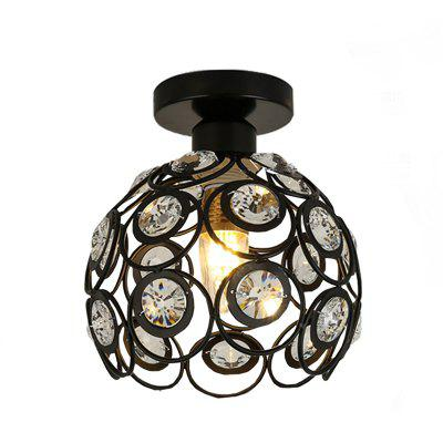 Brightness Max 60W Modern Crystal / Mini Style Painting Metal Flush Mountliving Room / Bedroom / Dining Room / Kitchen
