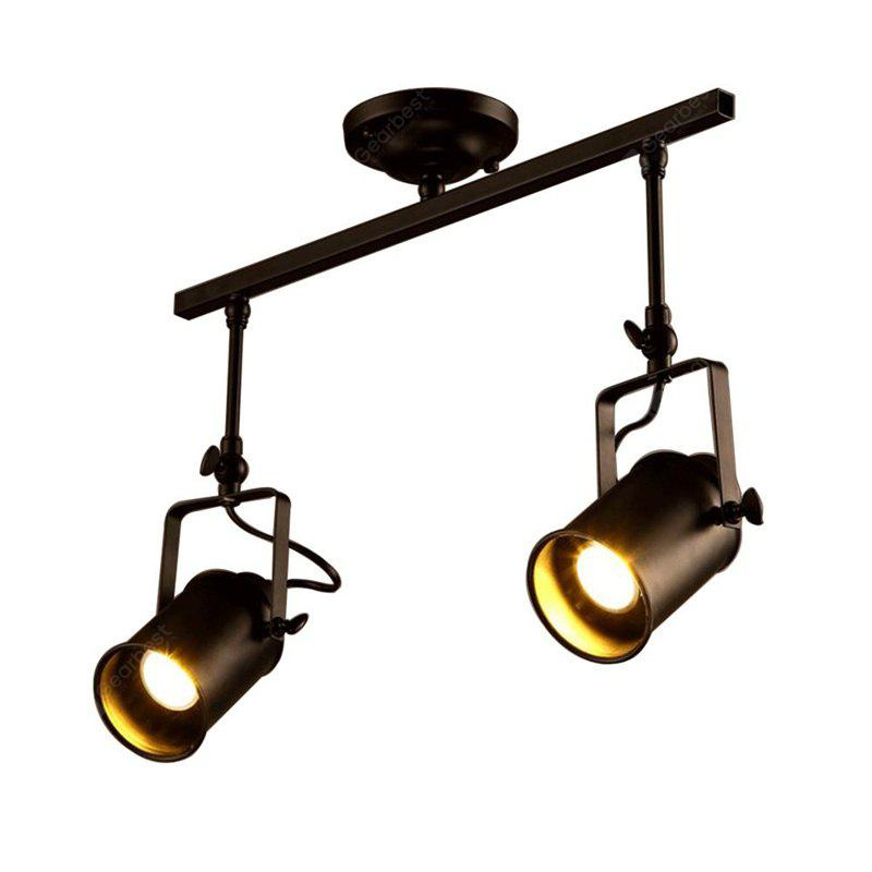 Brightness Vintage Track Ceiling Light Fixture 2 For Living Room Dining Bar Foyer Hallway Clothing