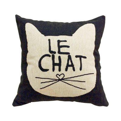 2PCS Good Quality Cat Home Decoration Linen Cushion CoversPillow<br>2PCS Good Quality Cat Home Decoration Linen Cushion Covers<br><br>Category: Pillow Case<br>For: All<br>Material: Cotton Linen<br>Occasion: Office, Dining Room, Bedroom, Bathroom, Kitchen Room, Living Room, KTV, Bar, School<br>Package Contents: 2 x Cushion Cover<br>Package size (L x W x H): 50.00 x 25.00 x 2.00 cm / 19.69 x 9.84 x 0.79 inches<br>Package weight: 0.4200 kg<br>Product size (L x W x H): 45.00 x 45.00 x 0.50 cm / 17.72 x 17.72 x 0.2 inches<br>Product weight: 0.4000 kg<br>Type: Fashion, Entertainment, Decoration, Safety, Eco-friendly, Comfortable, Leisure, Novelty