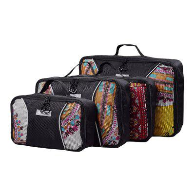 4pcs / Set Packing Cubes Travel OrganizerDuffel Bags<br>4pcs / Set Packing Cubes Travel Organizer<br><br>Package Contents: 4 x Packing Bag<br>Package Dimension: 50.00 x 40.00 x 6.00 cm / 19.69 x 15.75 x 2.36 inches<br>Package weight: 0.4000 kg<br>Product weight: 0.2800 kg