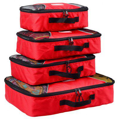 4pcs / Set Packing Cubes Travel Organizer