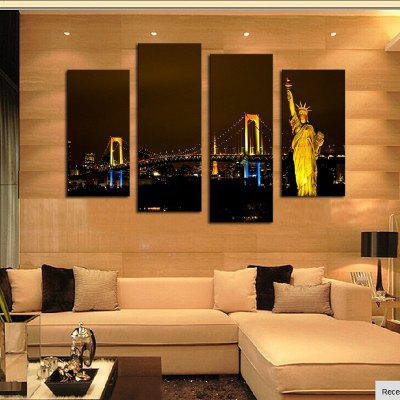 4PCS Statue of Liberty Printed Painting Canvas Unframed Wall ArtPrints<br>4PCS Statue of Liberty Printed Painting Canvas Unframed Wall Art<br><br>Craft: Print<br>Form: Four Panels<br>Material: Canvas<br>Package Contents: 4 x Printed Painting<br>Package size (L x W x H): 35.00 x 5.00 x 5.00 cm / 13.78 x 1.97 x 1.97 inches<br>Package weight: 0.5000 kg<br>Painting: Without Inner Frame<br>Product size (L x W x H): 30.00 x 80.00 x 1.00 cm / 11.81 x 31.5 x 0.39 inches<br>Product weight: 0.3500 kg<br>Shape: Horizontal Panoramic<br>Style: American Style, Fasion<br>Subjects: Landscape<br>Suitable Space: Bedroom,Dining Room,Hallway,Hotel,Living Room,Office,Pathway,Study Room / Office