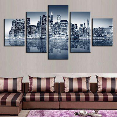5PCS Urban Landscape Printed Canvas Unframed Wall ArtPrints<br>5PCS Urban Landscape Printed Canvas Unframed Wall Art<br><br>Craft: Print<br>Form: Five Panels<br>Material: Canvas<br>Package Contents: 5 x Prints<br>Package size (L x W x H): 35.00 x 5.00 x 5.00 cm / 13.78 x 1.97 x 1.97 inches<br>Package weight: 0.5000 kg<br>Painting: Without Inner Frame<br>Product size (L x W x H): 30.00 x 80.00 x 1.00 cm / 11.81 x 31.5 x 0.39 inches<br>Product weight: 0.3600 kg<br>Shape: Horizontal Panoramic<br>Style: European Style, Artistic Style<br>Subjects: Landscape<br>Suitable Space: Living Room,Bedroom,Pathway,Study Room / Office