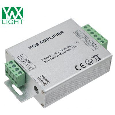 Ywxlight 12A Led Amplifier Rgbw / Rgb Led Strip Controller Dc 12 - 24V
