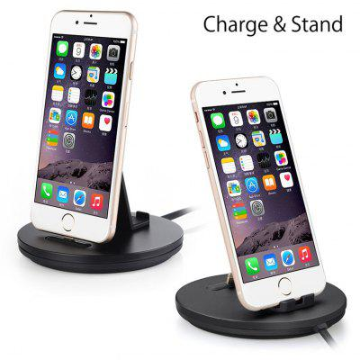 Daite Ts050 3 In 1 Docking Charger And Phone Stand with Cable for Android Phones And Tablets