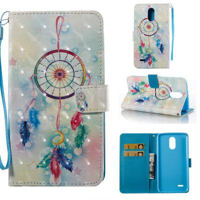 Buy COLORMIX Feather Wind Chimes 3D Painted Pu Phone Case for Lg Stylus3 Ls777 for $5.31 in GearBest store