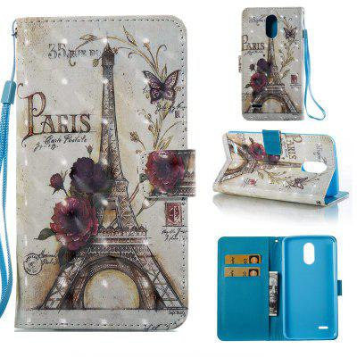 35 Towers 3D Painted Pu Phone Case for Lg Stylus3 Ls777