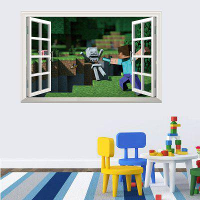3D Wall Sticker For Kids Room Popular Games Removable Wall Decal