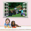 3D Wall Sticker For Kids Room Popular Games Removable Wall Decal - MIX COLOR