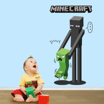 3D Wall Sticker DIY Game Decor For Kids Rooms Home DecorationWall Stickers<br>3D Wall Sticker DIY Game Decor For Kids Rooms Home Decoration<br><br>Brand: DSU<br>Color Scheme: Others<br>Effect Size (L x W): 50 x 70cm<br>Function: Decorative Wall Sticker<br>Layout Size (L x W): 42 x 76cm<br>Material: Self-adhesive Plastic<br>Package Contents: 1 x Wall Sticker<br>Package size (L x W x H): 52.00 x 5.00 x 5.00 cm / 20.47 x 1.97 x 1.97 inches<br>Package weight: 0.1600 kg<br>Product size (L x W x H): 70.00 x 50.00 x 0.01 cm / 27.56 x 19.69 x 0 inches<br>Product weight: 0.1100 kg<br>Quantity: 1<br>Subjects: Game<br>Suitable Space: Kids Room,Hallway,Kids Room,Study Room / Office,Boys Room,Game Room<br>Type: Plane Wall Sticker