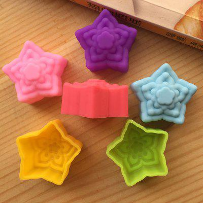 Macroart 6PCS Novelty Cooking Utensils Bread Chocolate Silica Gel Baking Tool Creative Kitchen Gadget Cake Molds