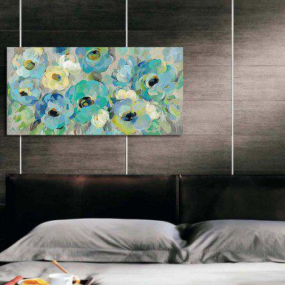 Happy Art Handed Top Grade Canvas Flower Oil Painting Wall Art