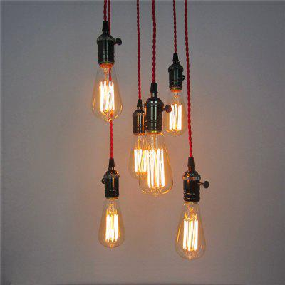 Buy FLAME American Style Retro Village Iron Pendant Lighting Restaurant Kitchen Living / Study Room Coffee Shop Lamp Dd-008 for $103.19 in GearBest store