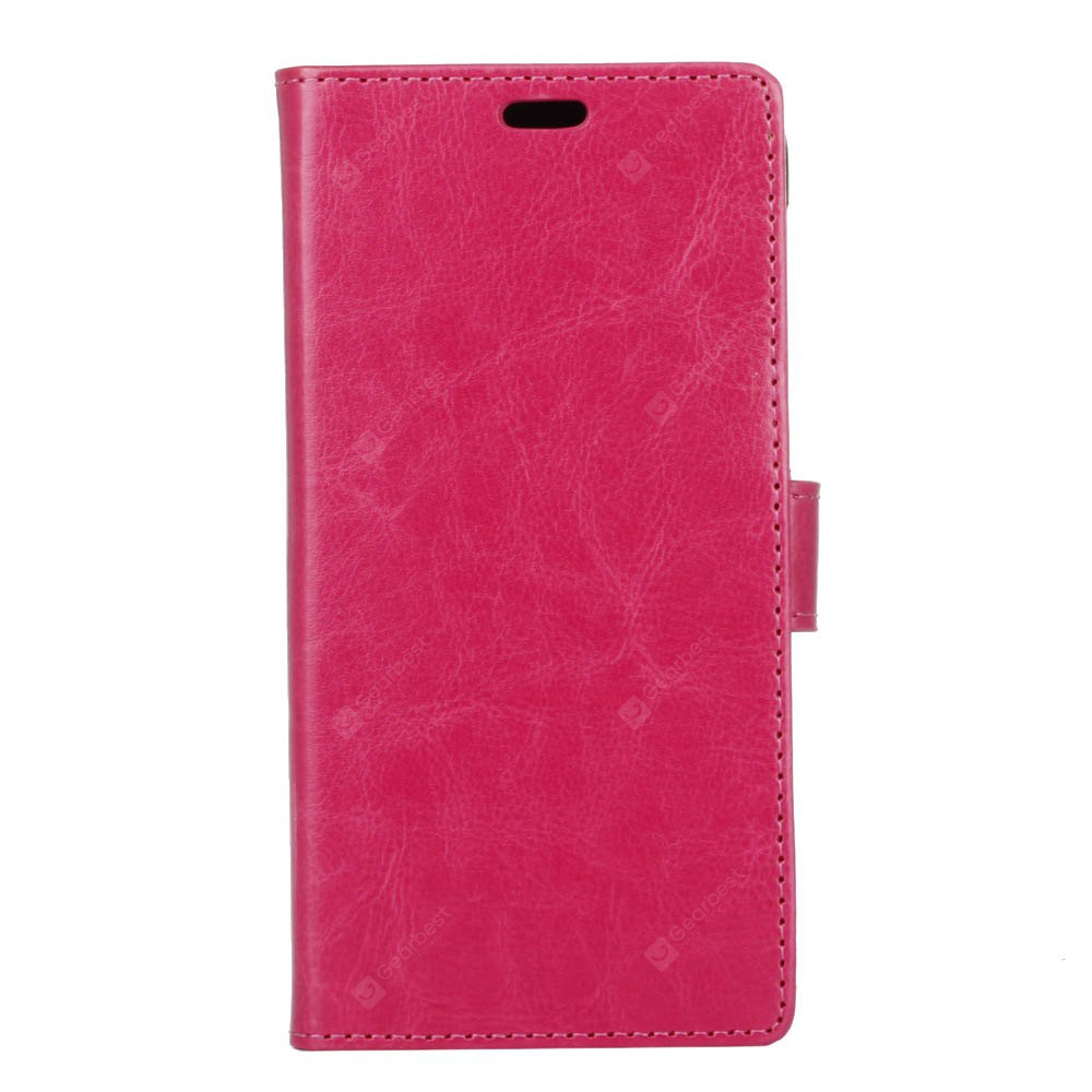 KaZiNe Crazy Horse Texture Leather Wallet Case for DOOGEE Y6