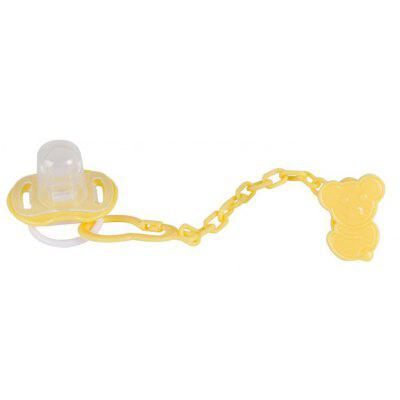 Pacifier Baby Pacifier with Pacifier Anti-Drop Combo Kit