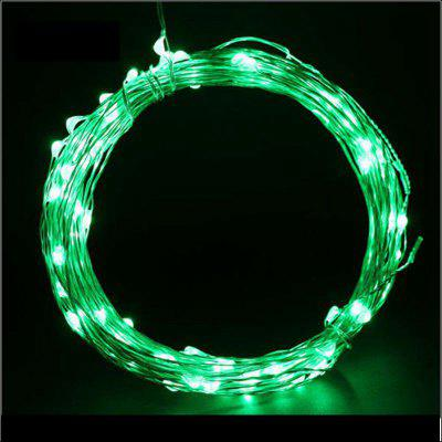 Buy GREEN 6PCS 3V 2M 20 LED Silver lamp Series Copper Wire String Light with Bottle Stopper for Glass Craft Bottle Fairy Valentines Wedding Party Xmas 6.5ft Waterproof IP65 Battery AG3, included for $14.04 in GearBest store