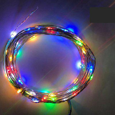 Buy MULTICOLOR 6PCS 3V 2M 20 LED Silver lamp Series Copper Wire String Light with Bottle Stopper for Glass Craft Bottle Fairy Valentines Wedding Party Xmas 6.5ft Waterproof IP65 Battery AG3, included for $14.04 in GearBest store
