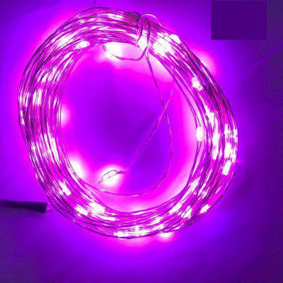 Buy PINK 6PCS 3V 2M 20 LED Silver lamp Series Copper Wire String Light with Bottle Stopper for Glass Craft Bottle Fairy Valentines Wedding Party Xmas 6.5ft Waterproof IP65 Battery AG3, included for $14.04 in GearBest store