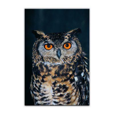 Yhhp Animal Owl Picture Print Modern Wall Art On Canvas Unframed yhhp hand painted high definition dog pictures to print simulation oil painting wall art on canvas unframed