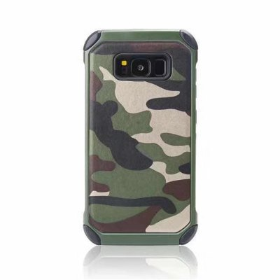 Army Camo Camouflage Hybrid Armor Capa Cases for Samsung Galaxy Note 8