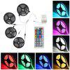 Supli 20M 5050 RGB 600-LED Strip Flexible Tape String Lights Not Waterproof DC 12V with 44 KEY IR Remote Controller Kit - RGB
