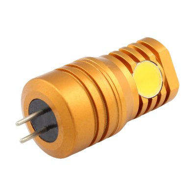 2W Aluminum G4 Led Spotlight 4 Smd Cob Bulb 180 Lm Warm White Ac/Dc 12VLED Bi-pin Lights<br>2W Aluminum G4 Led Spotlight 4 Smd Cob Bulb 180 Lm Warm White Ac/Dc 12V<br><br>Available Light Color: Warm White, Warm White<br>CCT/Wavelength: 2800-3500K<br>Certifications: CE,RoHs, CE,RoHs<br>Emitter Types: COB<br>Features: Energy Saving, Low Power Consumption<br>Function: Home Lighting, Commercial Lighting, Studio and Exhibition Lighting, Home Lighting, Commercial Lighting, Studio and Exhibition Lighting<br>Holder: G4<br>Package Contents: 1 x Led Light, 1 x Led Light<br>Package size (L x W x H): 4.20 x 1.70 x 1.70 cm / 1.65 x 0.67 x 0.67 inches, 4.20 x 1.70 x 1.70 cm / 1.65 x 0.67 x 0.67 inches<br>Package weight: 0.0172 kg, 0.0172 kg<br>Product size (L x W x H): 4.05 x 1.60 x 1.60 cm / 1.59 x 0.63 x 0.63 inches, 4.05 x 1.60 x 1.60 cm / 1.59 x 0.63 x 0.63 inches<br>Product weight: 0.0170 kg, 0.0170 kg<br>Sheathing Material: Aluminum, Aluminum<br>Type: Bi-pin Bulb<br>Voltage (V): AC/DC 12V