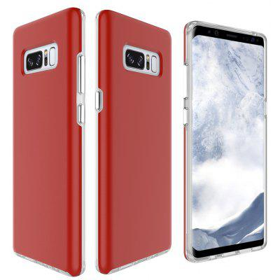 Wkae Dual Layer 2 In 1 Pc And Tpu Protective Back Cover Case for Samsung Galaxy Note 8
