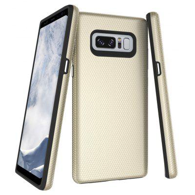 Wkae Dual Layer Double Protection Pc + Tpu Drop Resistant Shockproof Hybrid Armor Shell Cover Case for Samsung Galaxy No