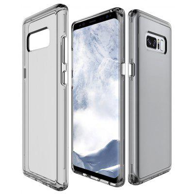 Wkae Transparent Dual Layer Style Anti Cratch Shock Absorbtion Protective Shell Cover Case for Samsung Galaxy Note 8
