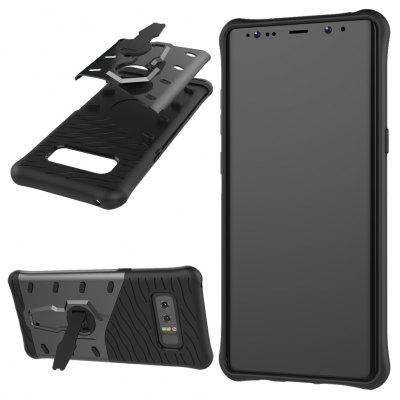 Wkae Dual Layer 360 Rotating Kickstand Hybrid Armor Shell Protective Cover Case for Samsung Galaxy Note 8