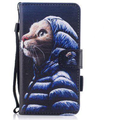 Buy #01 Color Pattern Flip PU Leather Wallet Case with Sling for Huawei Honor 6C for $4.59 in GearBest store