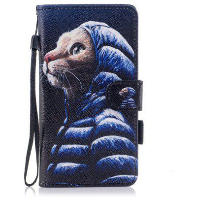 Buy #08 Color Pattern Flip PU Leather Wallet Case with Sling for Huawei Honor 9 for $4.59 in GearBest store
