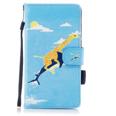 Buy #09 Color Pattern Flip PU Leather Wallet Case with Sling for Huawei Honor 9 for $4.59 in GearBest store