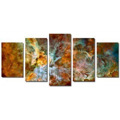 Buy COLORMIX Stretched Canvas Print Cosmic Stars Modern Wall Art for Home Decoration Ready To Hang for $40.21 in GearBest store