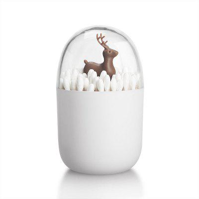 Creative Toothpick Box with Animal Elk Storage Holder