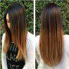 TODO Straight Ombre 7-Piece 16-Clip Clip-in Hair Extensions - #4