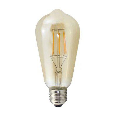 E27 ST64 4W Warm COB LED Filament Retro Edison Bulbs AC 220 – 240V