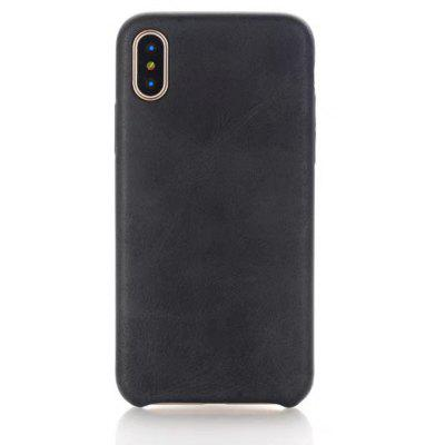 Wkae Solid Color Retro Style Soft Silicone Gel Tpu Shell Back Cover Case for Iphone x