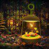 LED Night Light Created Corful Touching Planting Lamp - SNOW WHITE