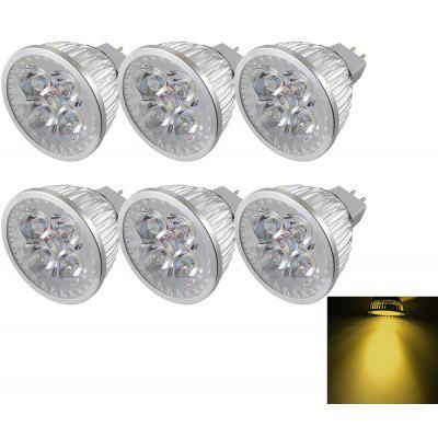 YouOKLight Proyector 4-LED MR16 4W 320LM DC12V 6 Piezas