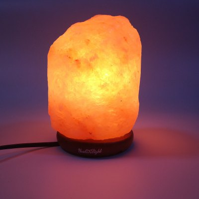 YouOKLight 15W AC 110V 6inch 1.9KG Warm White Himalayan Natural Crystal Night Light