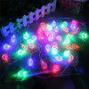 20-LED Bubble Ball Shaped Christmas Tree String Lights Decorated Colored Lamp - COLORFUL