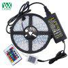 Buy Ywxlight 5M 5050 72W Led Light Strip 24 Keys Remote Control 5A Adapter Ac 100 - 240V WHITE AND GREEN