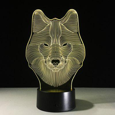 Yeduo Animal Wolf Decor 3D Led Nightlights Colorful Wolf Design Table Lamp Teen Wolf Illusion Lights Bedroom Modern DecorDecorative Lights<br>Yeduo Animal Wolf Decor 3D Led Nightlights Colorful Wolf Design Table Lamp Teen Wolf Illusion Lights Bedroom Modern Decor<br><br>For: Home, Bar, School, Cafe, Restaurant<br>Material: Acrylic<br>Package Contents: 1 x Night Light<br>Package size (L x W x H): 22.00 x 13.00 x 10.00 cm / 8.66 x 5.12 x 3.94 inches<br>Package weight: 0.4100 kg<br>Product size (L x W x H): 22.00 x 13.00 x 9.00 cm / 8.66 x 5.12 x 3.54 inches<br>Product weight: 0.4000 kg