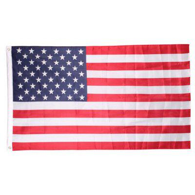 Yeduo Polyester USA United States American Flag 90 x 150cm