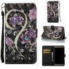 Peacock Flower 3D Painted Pu Phone Case for Samsung Galaxy J7 2016 - COLORMIX